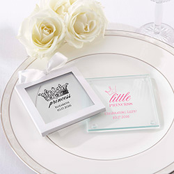 Personalized Glass Coaster - Little Princess (Set of 12)