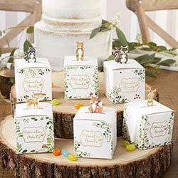 Woodland Baby Favor Box (Set of 24)